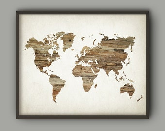 World map chart etsy map of the world wood minimalist wall art print neutral nursery decor modern travel gumiabroncs Choice Image