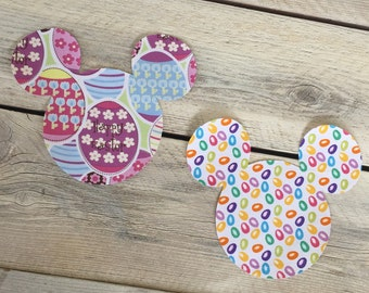 Easter Iron On Mickey Mouse Inspired Appliqué