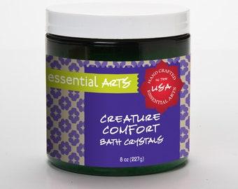 Creature Comfort Aromatherapy Bath Crystals