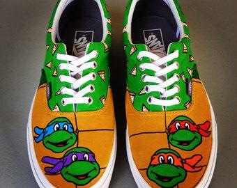 Teenage Mutant Ninja Turtles Adult Custom VANS Shoes