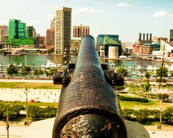 Inner Harbor. Federal Hill. Baltimore. Photography. History