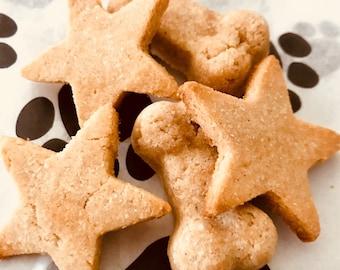 Grain free peanut butter dog treats