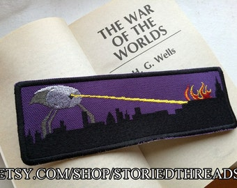 War of the Worlds Bookmark or Patch