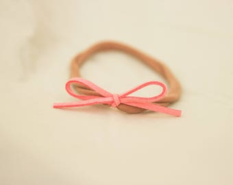 Light Pink Nylon Headband