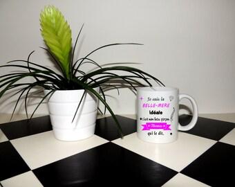 Mug mother-in-law, Teacup, mug, ceramic, gift idea, without name