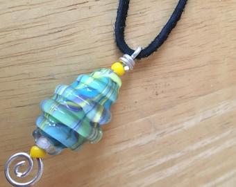 Swirled Glass Pendant