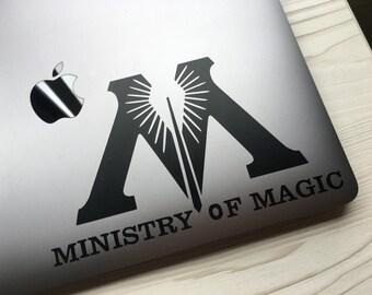 Ministry of Magic Harry Potter Custom Vinyl Decal