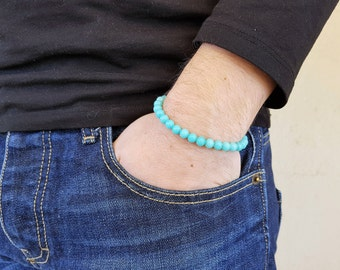 Jadeite Bracelet, Gemstone Bracelet, Mala Bracelet, Prayer Beads, Men Bead Bracelet, Men Mala Bracelet, Yoga Bracelet, Spiritual Bracelet