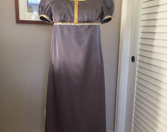 Jane Austen Regency Gown by Iblamejanetoo - U.S. size 8