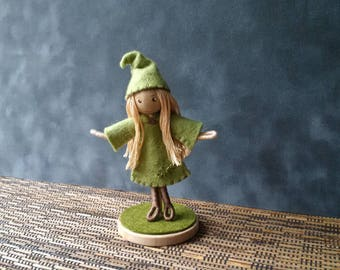 Forest Elf Bendy Doll