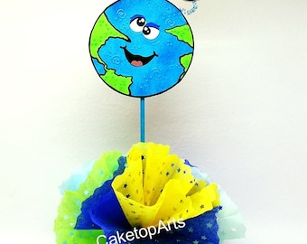 Astronaut birthday, Outer space party, Space party, solar system party, Custom cake topper, Astronaut Party, Planets birthday, Blast Off