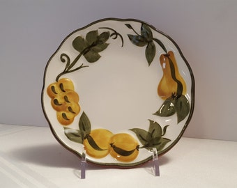 Stangl Sculptured Fruit 6'' Plate #5179