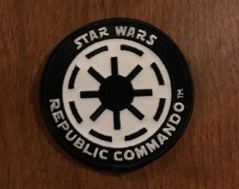 Star Wars Republic Commando Xbox Video Game Backpack Bag Hat Patch