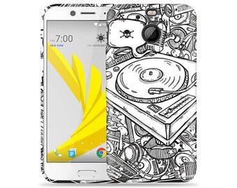 Htc Bolt #DJ Design Hard Phone Case