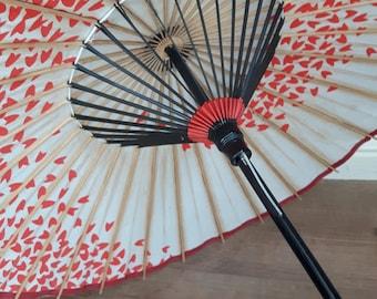 Vintage sun umbrella parasol