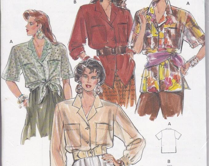 FREE US SHIP Burda 5161 Retro 1990s 90's Sewing Pattern Big Shirt Size 8 10 12 14 16 18 20 Bust 31.5 32 34 36 38 40 42 Plus Uncut