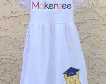 Preschool or Kindergarten Graduation Dress Outfit