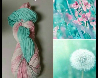 As You Wish hand-dyed cotton yarn