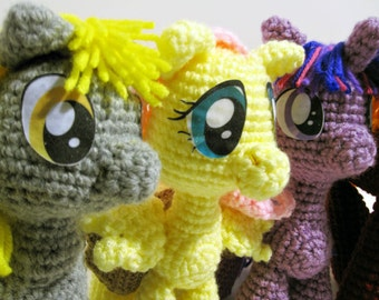 Pattern: Pony/Pegasus/Unicorn