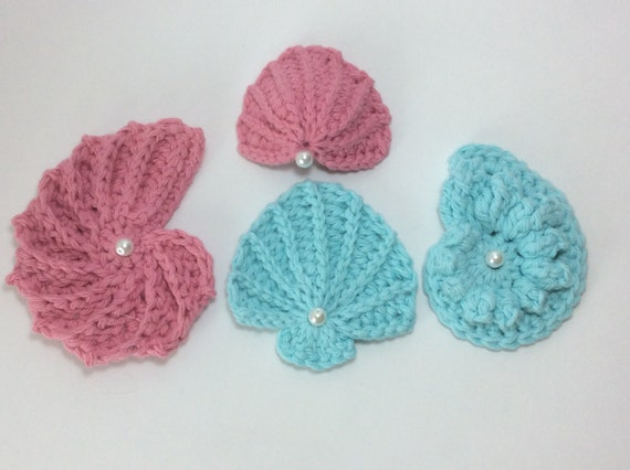 Set Of 4 Pdf Sea Shell Patterns4 Seashell Patterns Buy 3 Get 1