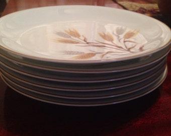 Vintage noritake China 5566 set of 6 salad plates