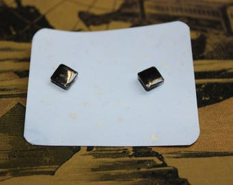 Vintage old stock collar buttons 2pcs