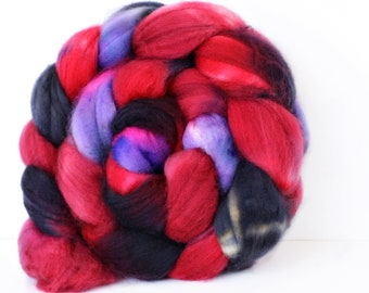 Ember 4 oz Merino softest 19.5 micron Roving Top for spinning