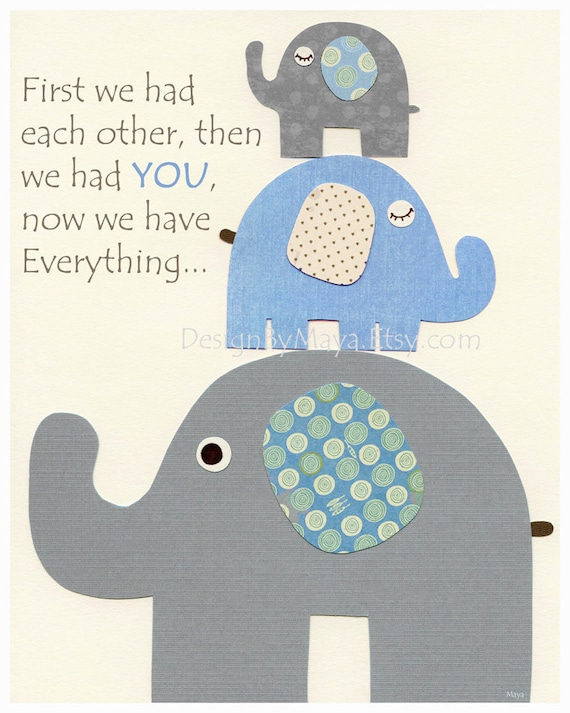 Shop for the perfect elephant baby shower gift from our wide selection of designs, or create your own personalized gifts.