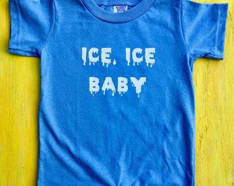 Ice, Ice Baby Romper // Vanilla Ice Onesie