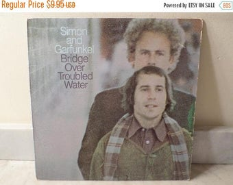 Save 30% Today Vintage 1973 LP Record Simon and Garfunkel Bridge Over Troubled Water Very Good Condition 14830