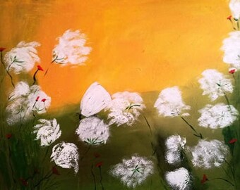 Flower Meadow, abstract