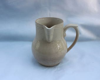Vintage milk jug gorgeous antique French farmhouse style 1940s