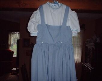 Wizard of Oz Dorothy  Adult Dress