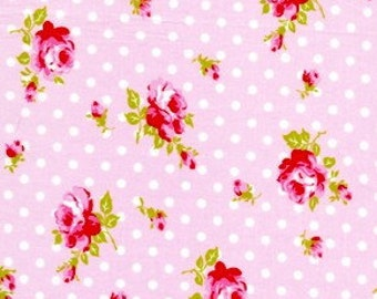 LAST YARD Tanya Whelan Delilah Collection Rose Buds in Pink 1 Yard