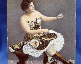 Vintage Risque Postcard from the 1910s
