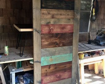 Rustic Handcrafted Farmhouse Barn Door