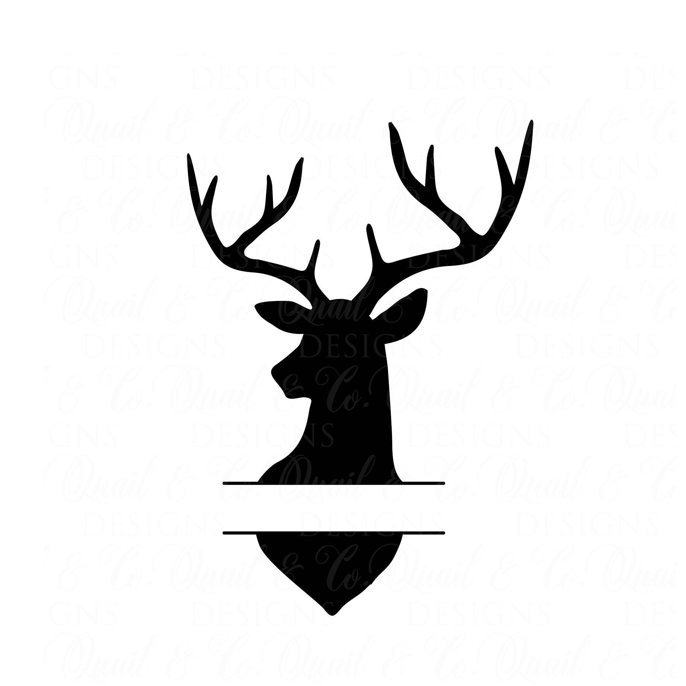 Download Free Svg Silhouette Of A Deer In The Midnight File For ...