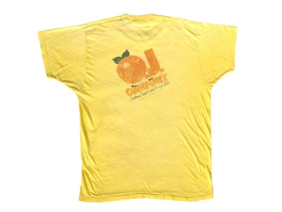 OJ Comfort Alcohol Promo T-Shirt