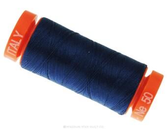 MK50 2783 - Aurifil Medium Delft Blue Cotton Thread