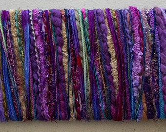 Hand dyed yarns, Vineyard - for papercrafting and scrapbooking