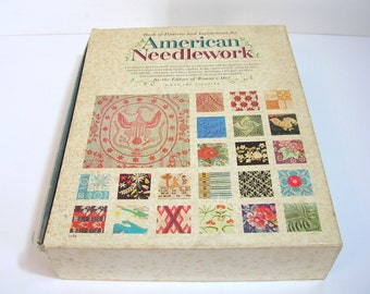 American Needlework, A Complete Manual With Instructions And Patterns By The Editors Of Woman's Day, 1963