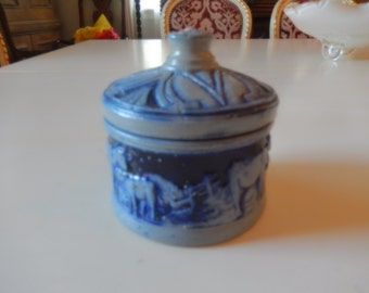 GERMANY COW CANISTER with Lid