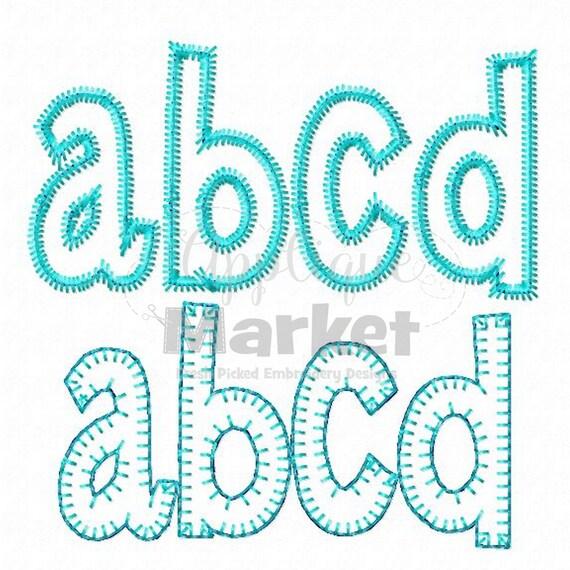 machine embroidery henry applique alphabet instant download