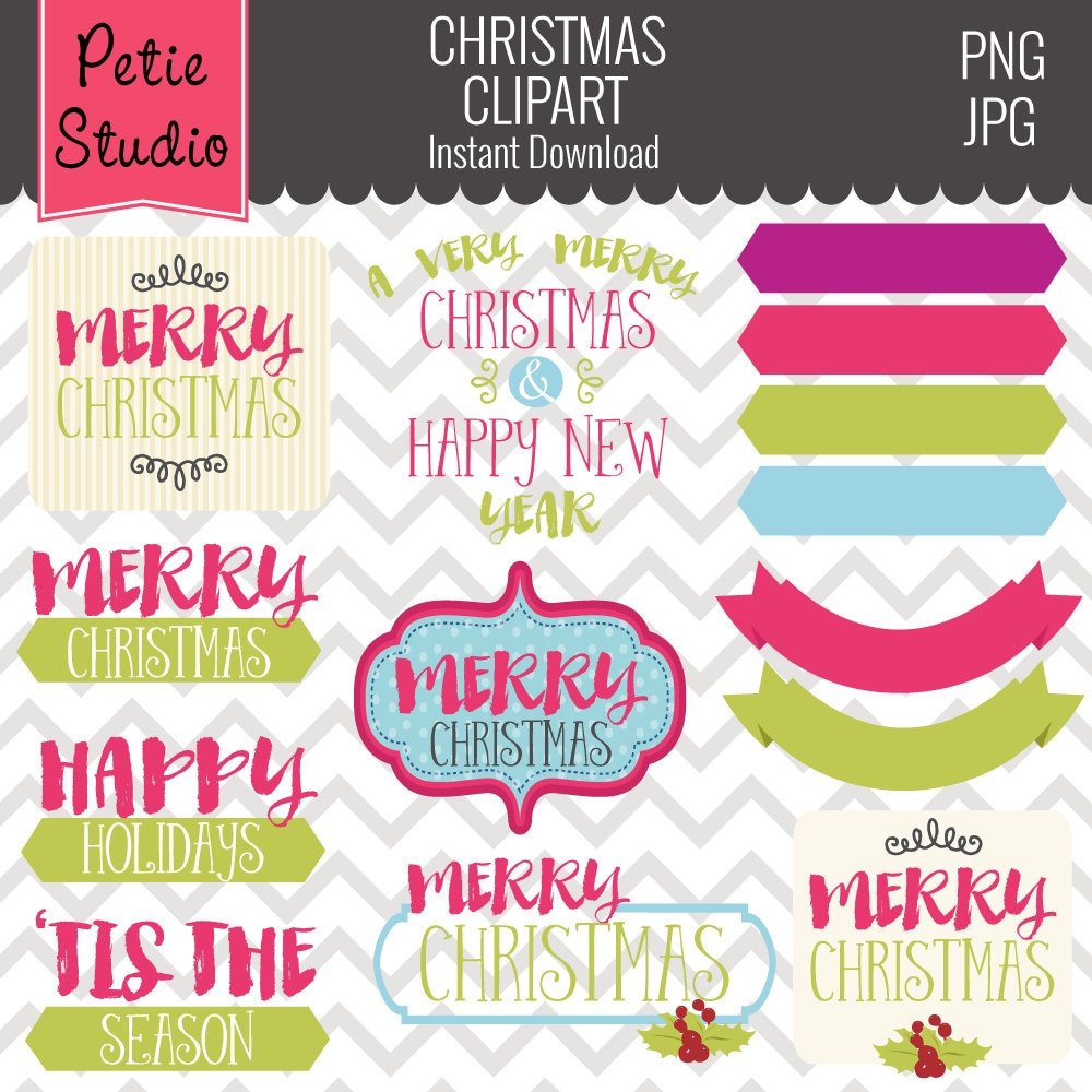 Christmas Greetings Clipart Christmas Sayings Holiday