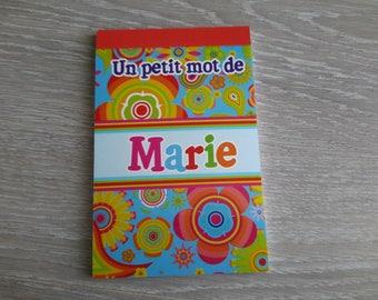 custom name of groom notebook