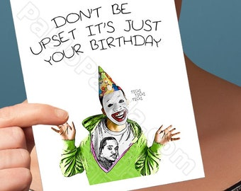 Birthday Card | Birthday Card Drake | Rap Beef The Story Gift For Him Pop Culture Rapper Card Hip Hop Gift Pusha T Drake Birthday Gift Clown