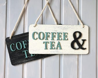 Coffee Sign - Coffee Bar - Coffee Bar Sign, Coffee Decor, Coffee Bar Decor, Kitchen Sign , Kitchen Coffee Sign, Vintage Coffee Sign