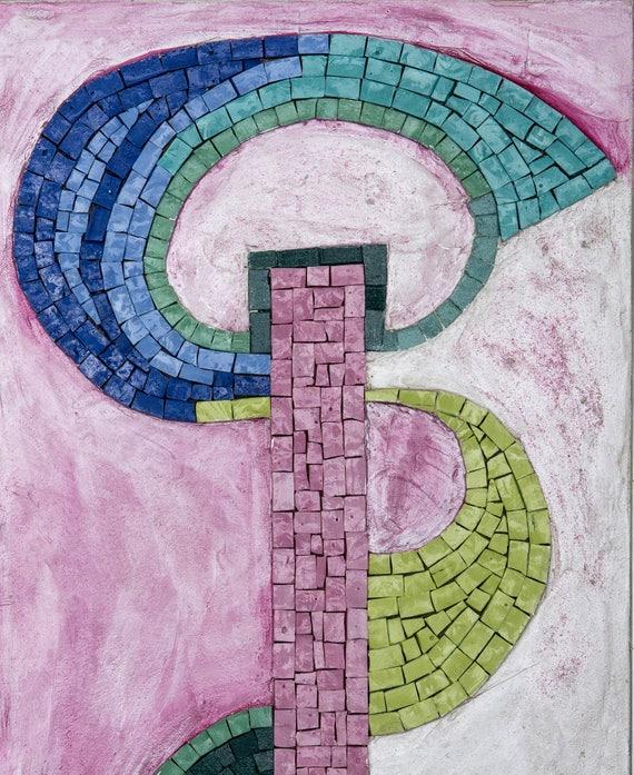mosaik kunst bisazza verkleidung, mosaikbild in venezianischen emaillen und glasnudeln., Design ideen