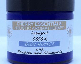 Indulgent Cocoa Body Butter with Banana and Chamomile 250ml