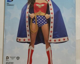 Simplicity Pattern 1024 Wonder Woman Costume Cosplay Sizes 6-14 New Pattern